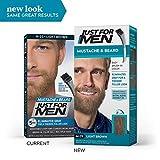 JUST FOR MEN Brush-In Color Gel, Mustache & Beard