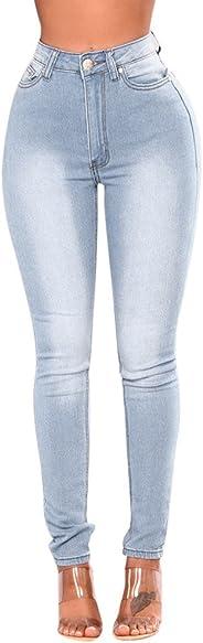 charmsamx Women's Butt Lift Skinny Jeans High Rise Slim Fit Pencil Pants Classic Stretch Ankle Pants Denim Jeggings
