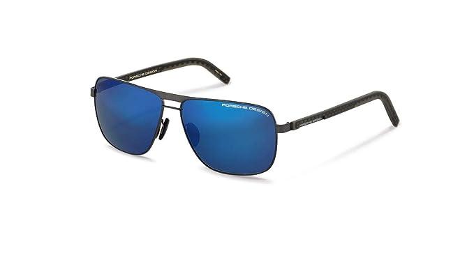 Amazon.com: Auténtico Porsche Design P 8639 C - Gafas de sol ...