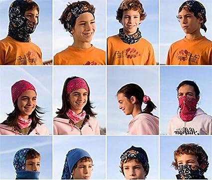 Women Men Skull Head Face Mask Wear Tube Bandana Durag Biker