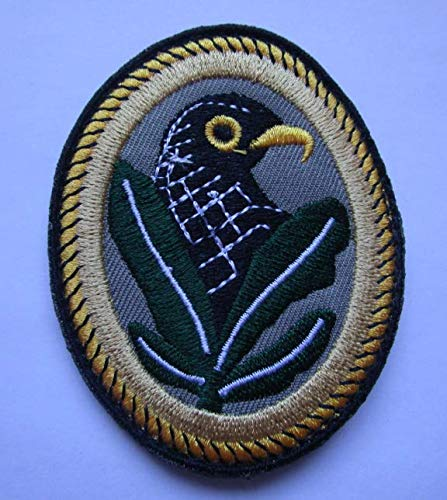 WWII German Sniper Infantry BIRDHEAD Military Patch Fabric Embroidered Badges Patch Tactical Stickers with Hook & Loop