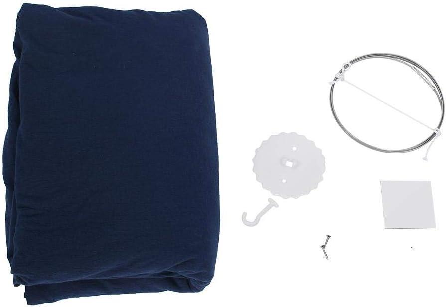 joli coton rond d/ôme suspendu lit /à baldaquin moustiquaire-rideau pour b/éb/é enfants jouant d/écor /à la maison rose Lit /à baldaquin pour enfants lit de b/éb/é