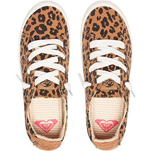 on Sneaker Roxy Cheetah Bayshore Women's Print Slip Shoe CTqRUw