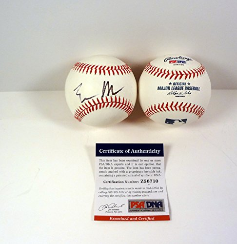 Elon Musk SpaceX Tesla Signed Autograph MLB Baseball PSA/DNA COA