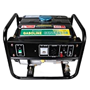 Shop4Omni Portable Four Stroke 1500 Watt Single Cylinder Gasoline Generator