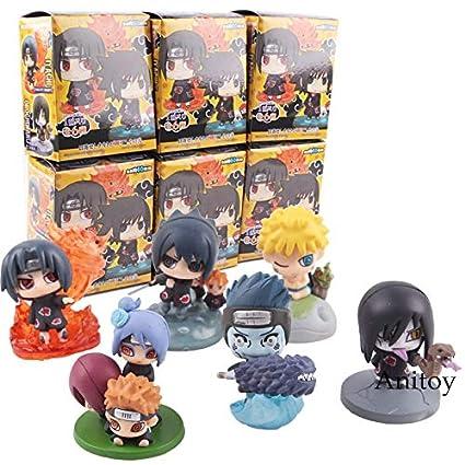 Amazon.com: Fallhuoz Naruto Shippuden Zetsu Deidara Sasori ...
