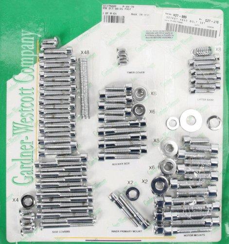 Gardner-Westcott Motor Hardware Allen Chrome Softail 00-06