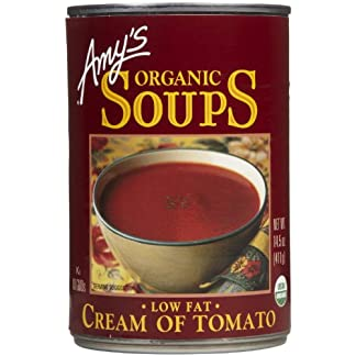 Organic Tomato Soup by Amy's Kitchen, 14.3 oz, (12)