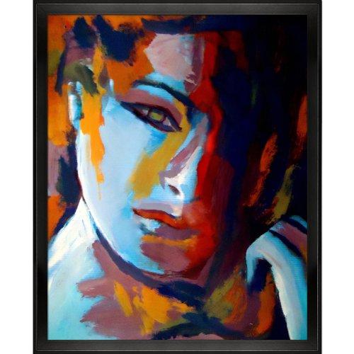 UPC 688576255729, overstockArt Divided Framed Canvas Print of an Original Painting By Helena Wierzbicki