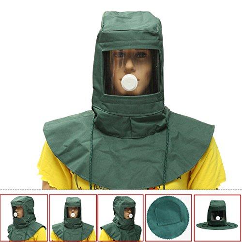 'Blasting Hood Sand Abrasive Grit Shot Sandblaster Mask Dust Protective Tool'
