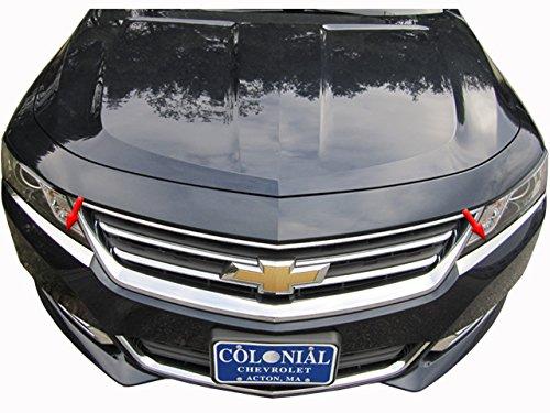 QAA FITS Impala 2014-2019 Chevrolet (2 Pc: Stainless Steel Headlight Accent Trim, 4-Door) HL54135