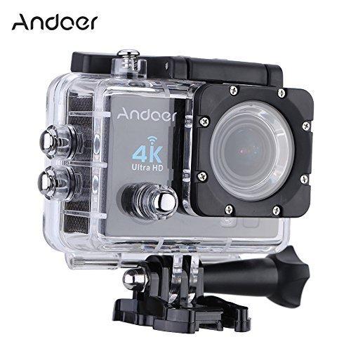 """Andoer 2"""" Ultra-HD LCD 4K 25FPS 1080P 60FPS Wifi Cam FPV Vid"""