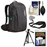 Thule TAC-106 Aspect DSLR Camera Daypack Backpack Case with Tripod + Sling Strap + Cleaning Kit