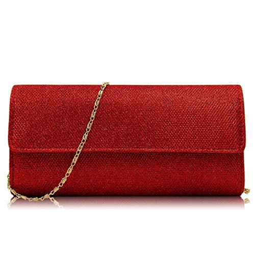 Party Purse Blue Clutch Red Popular Wedding Clutch Handbag Shining Sequins Prom Women Padory Shoulder Bridal Envelope Bag Evening 81fw1qZ