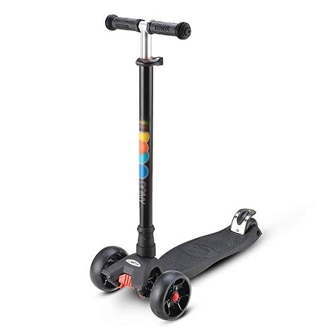 ETTBC Scooters - Patinete Infantil de 4 Rondas para niños de ...
