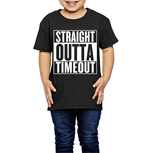Waldeal Boys Straight Outta Timeout Toddler T Shirt