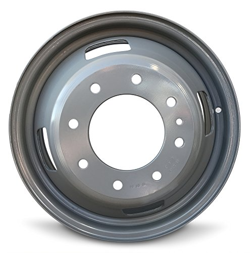 (  Road Ready Car Wheel For 2005-2016 Ford F350SD 17 Inch 8 Lug Gray Steel Rim Fits R17 Tire - Exact OEM Replacement - Full-Size)