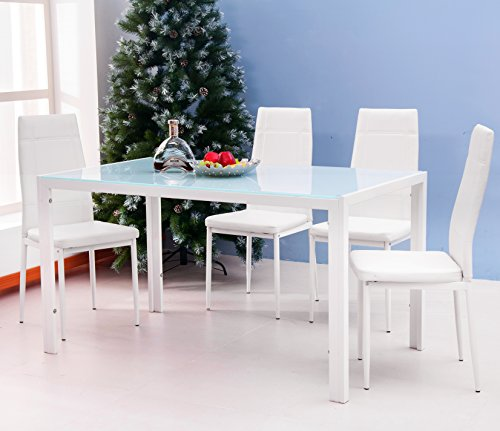 Rectangular Dining Table Set - 6