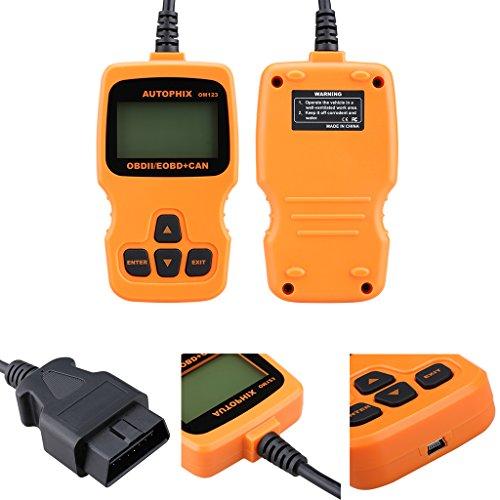 Vehicle Code Reader >> OBDMATE OM123 Hand-held Tester Scanner CAN OBD2ⅡEOBD ...