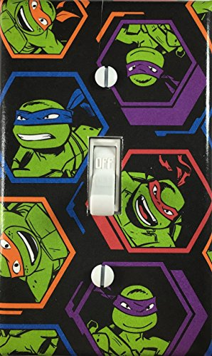 Switch Light Age Covers (Teenage Mutant Ninja Turtles Decorative Light Switch Cover Wall Plate)