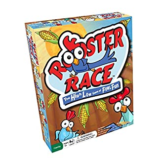 Rooster Race Card Game - Guessing Game for Families