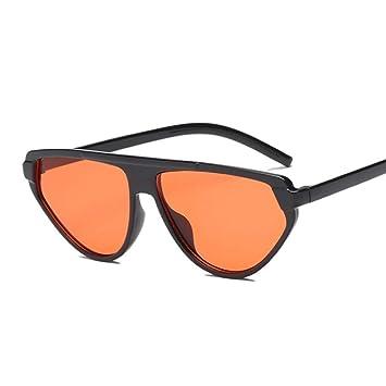QDE Gafas de sol Retro Espejo Gafas De Sol Mujer Vintage ...
