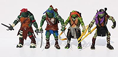 Superb good, ninja turtle action figures,TMNT Teenage Mutant Ninja Turtles PVC Action Figure Toys Dolls (4pcs/set) 12cm