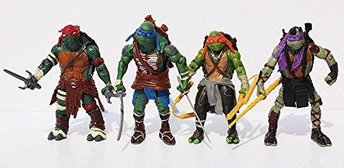 Xmen Cyclops New Costumes (Superb good, ninja turtle action figures,TMNT Teenage Mutant Ninja Turtles PVC Action Figure Toys Dolls (4pcs/set))