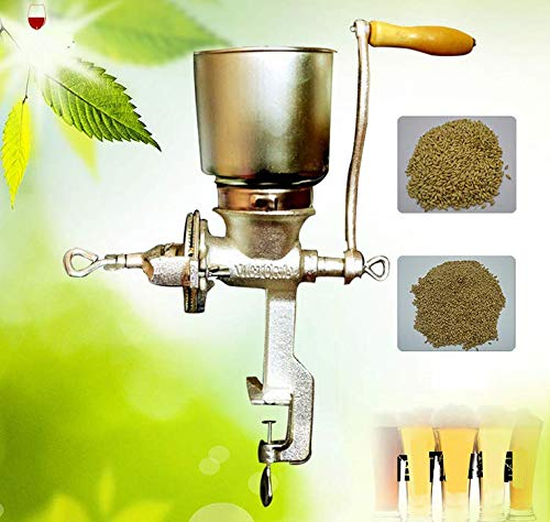 Manual coffee bean grinder food corn hand grinder mill Grain Grinder Malt Crusher Nut Crusher Home Brewing Tool Maize Crusher