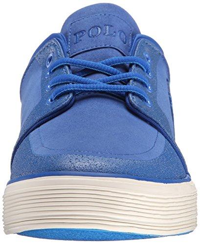Polo Ralph Lauren Mens Faxon Lage Nubuck Mode Sneaker Royal