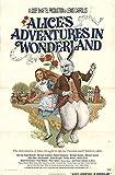 "Alice's Adventures in Wonderland 1972 Authentic 27"" x 41"" Original Movie Poster Michael Crawford Fantasy U.S. One Sheet"