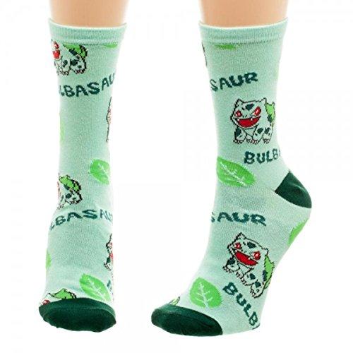 Pok%C3%A9mon Bulbasaur Juniors Cute Socks