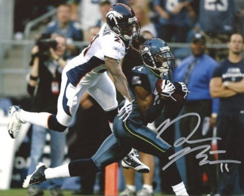 Deon Butler Signed 8x10 Photo Seattle Seahawks - Autographed NFL Football Photos