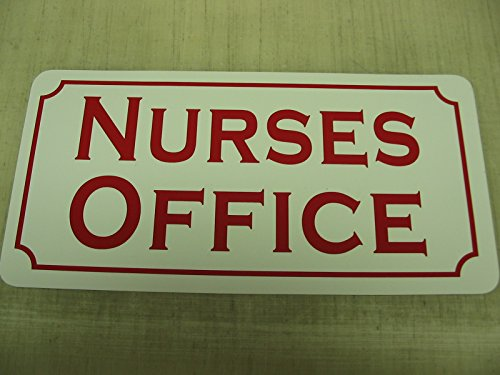 NURSES OFFICE Vintage Style Metal Sign by SuperSigns