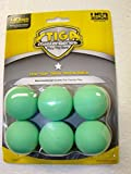 Stiga One Star Designer COLOR Balls 6 balls ONE color !
