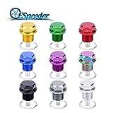Daphot Store - M12x1.75 Magnetic Oil Sump Nut Magnetic Oil Drain Plug Oil Plug Screw Aluminum Nut ( 1pcs, random color )