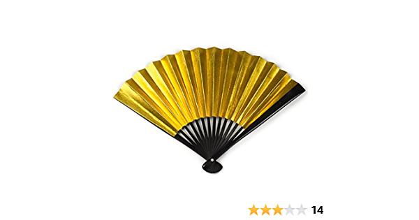 Hand Painted Gift Party Mother UK Dragons Eye Gold Black Fashion Costume Dance Party Accessory Favors Wall Art Hand Fan Unique Golden Eye
