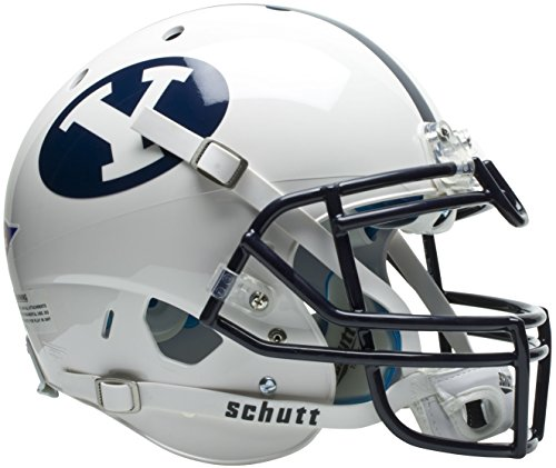 NCAA BYU Cougars Authentic XP Football Helmet by Schutt