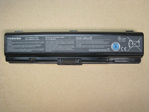Li-ion 6 Cell Battery 10.8V 44Wh for Toshiba Satellite A205-S5871 Series New Genuine ()