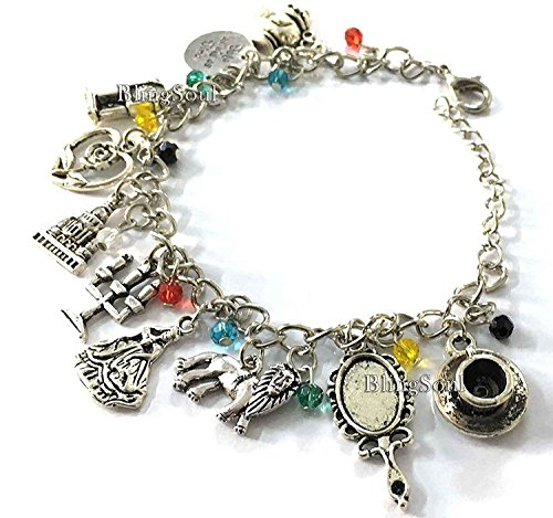 Beauty Charm Bracelet - Beast Belle Gifts Jewelry Merchandise