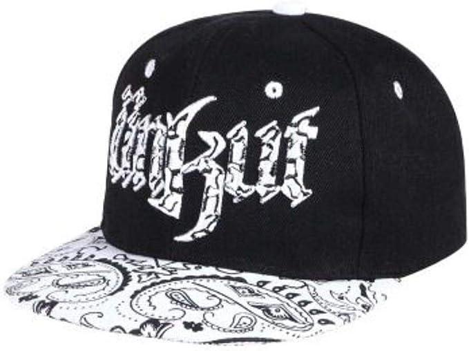 Sombrero Snapback Gorra de béisbol para Mujer Hueso Bad Boy Piel ...