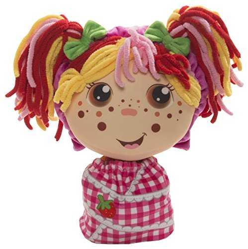 Flip Zee Girls Zana Very Berry Strawberry Sweet and Cuddly 2-in-1 Plush Doll (Reversible Doll)