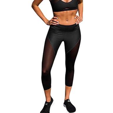 d8ae91544f7 Leggings deportivos elásticos y transpirables Para Mujer ...