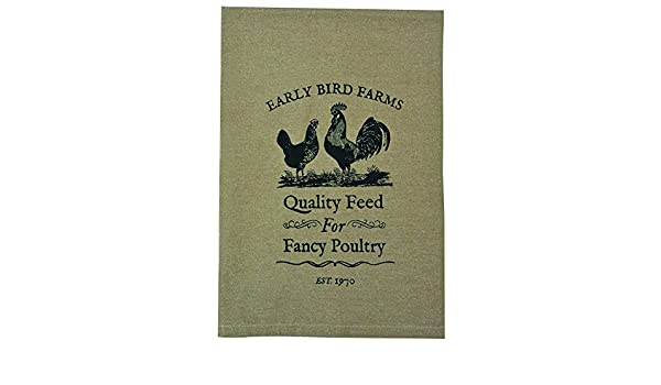 CWI Gifts G29073 Fancy Poultry Tea Towel