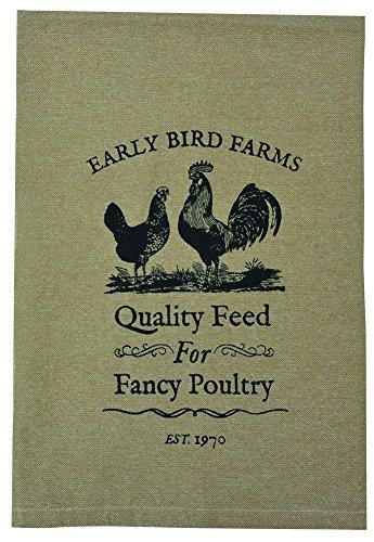 - CWI Gifts Fancy Poultry Tea Towel