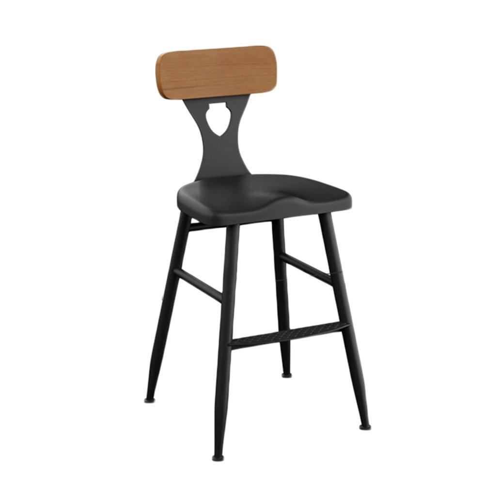 ERRUアイアンアートバーの椅子座っている45センチメートル高いバーのスツール家庭55センチメートル高い背もたれの椅子座っている65センチメートルハイスツールソリッドウッド座っている75センチメートル高い椅子カーテンシート バーチェア ( 色 : Sitting height 55cm , サイズ さいず : マジックグレー、カーキ ) B07C3RBHVQ マジックグレー、カーキ|Sitting height 55cm Sitting height 55cm マジックグレー、カーキ