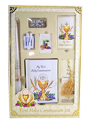 Bread of Life My First Holy Communion Deluxe Boxed Gift Set for Girls -