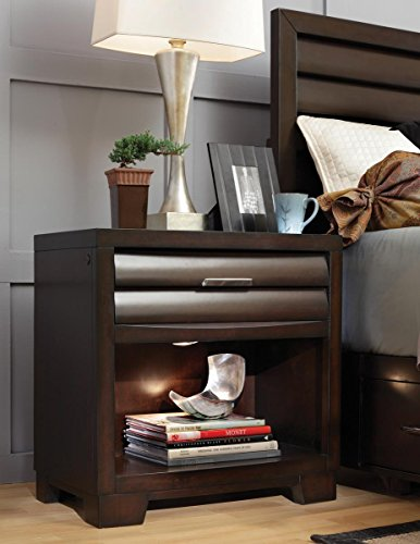 Pulaski Sable Nightstand - Pulaski Furniture Bedroom Table
