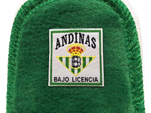Zapatilla de estar en casa Oficial del Betis de la marca Andinas