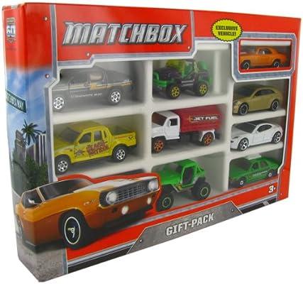 Matchbox 9-Car Gift Pack (Y2995) by Mattel: Amazon.es: Bebé
